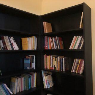 C'è così tanto spazio nelle librerie nuove che mi toccherà la sciagura di dover comprare tanti altri #libri 😌